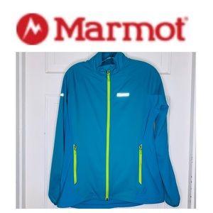 NWOT Marmot Lightweight Turquoise Jacket. Medium